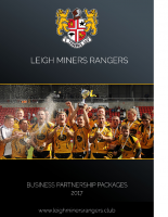 Leigh Miners Ranger Business Sponsorship